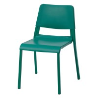 Scaun pentru bucatarie, inaltime 80 cm, suporta maxim 110 kg, Verde