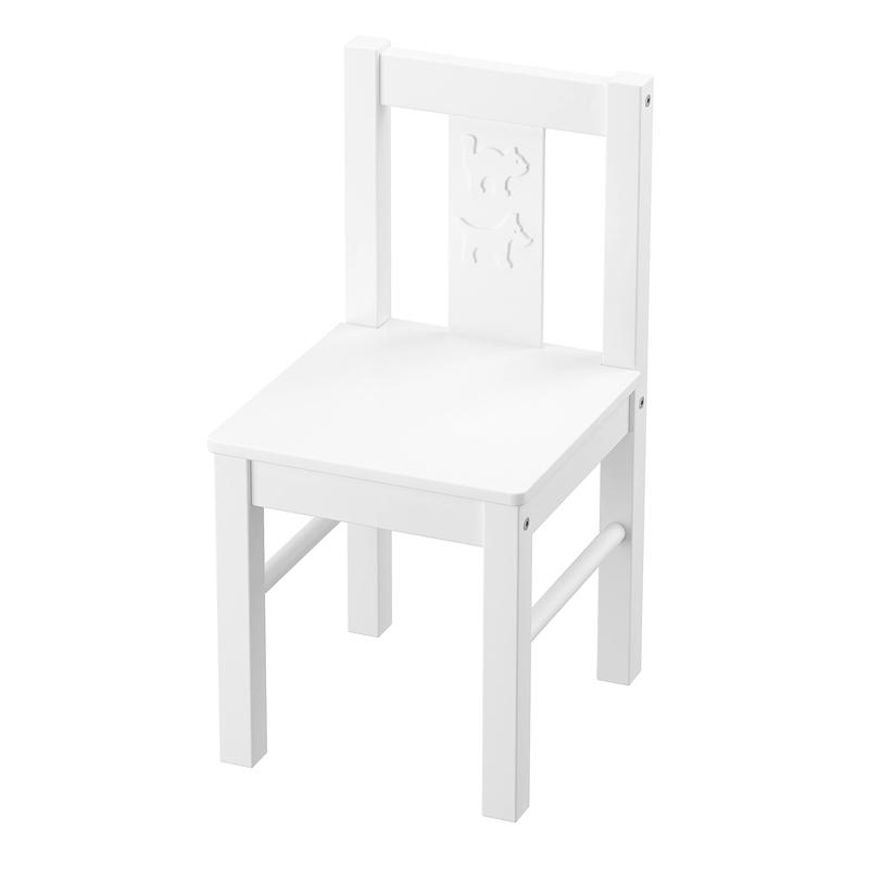 Scaun pentru copii Round, 55 x 28 cm, lemn masiv 2021 shopu.ro