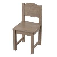 Scaun pentru copii Round, 55 x 28 cm, lemn masiv, Maro