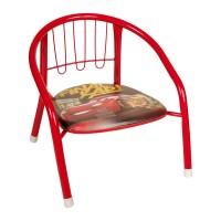 Scaun pentru copii model Cars, 36 x 35 x 36 cm, Rosu
