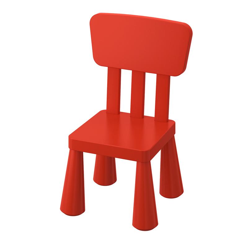Scaun pentru copii, 39 x 67 x 36 cm, Rosu 2021 shopu.ro