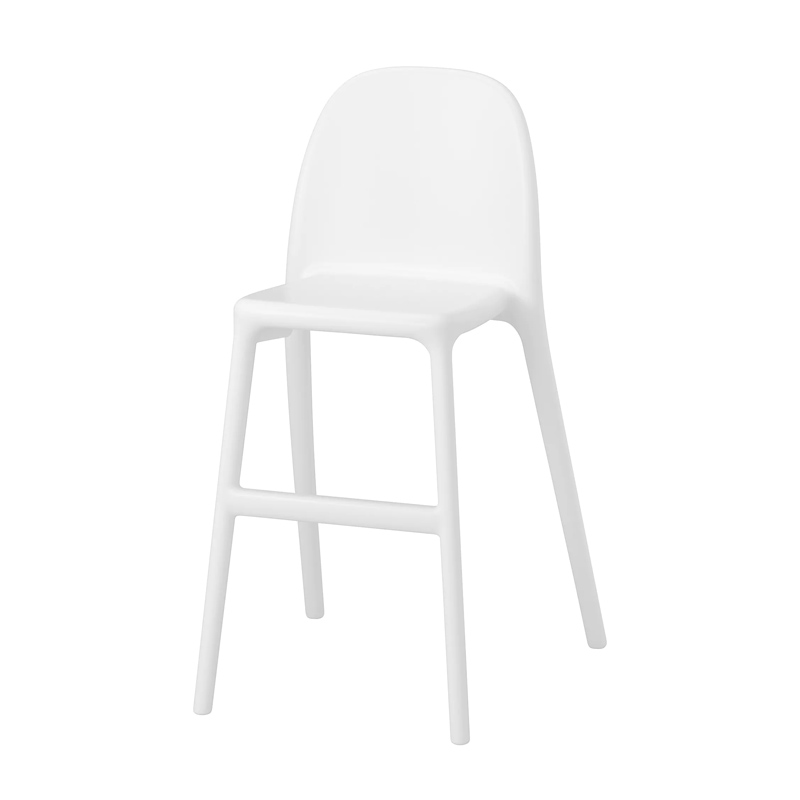 Scaun pentru copii, 45 x 48 x 79 cm, Alb 2021 shopu.ro