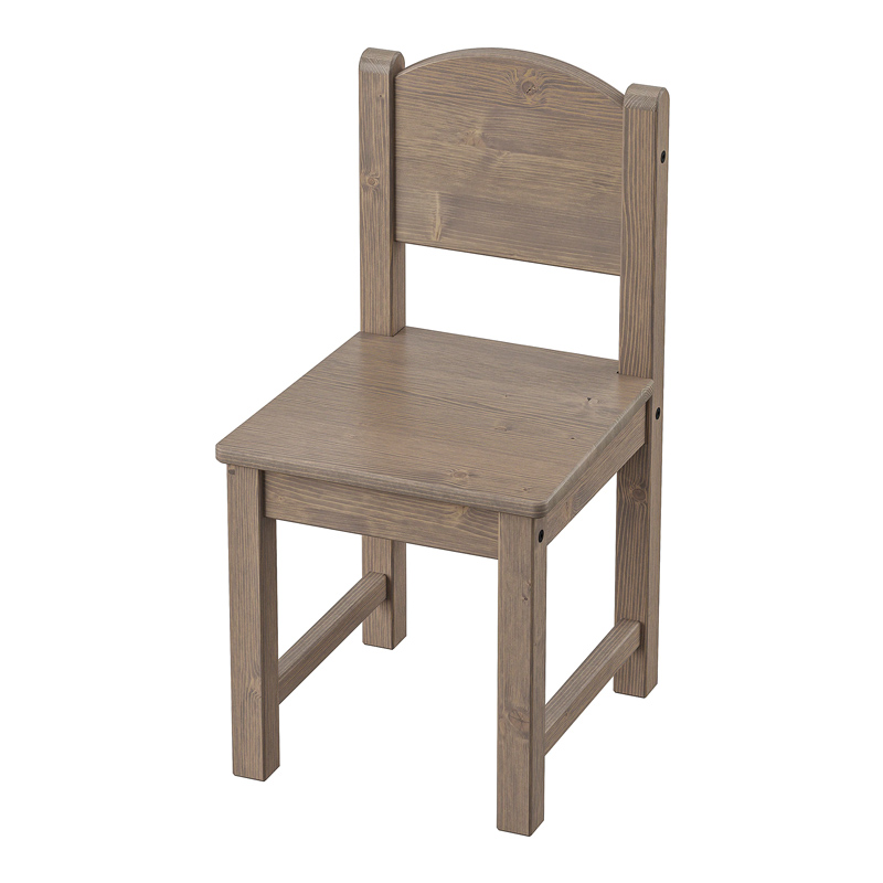 Scaun pentru copii, 55 x 29 x 28 cm, 3 ani+, Maro 2021 shopu.ro