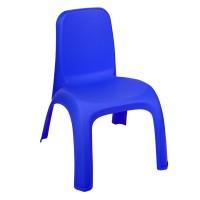 Scaun plastic pentru copii, 31 x 35 x 42.5 cm, Albastru