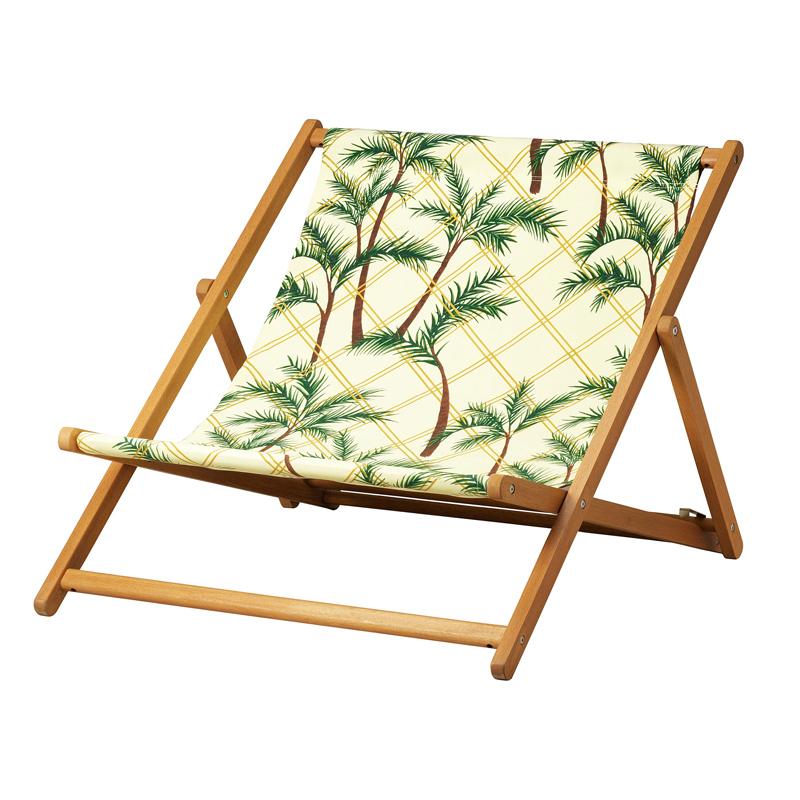 Scaun pliabil pentru plaja, lungime 129 cm, model palmier 2021 shopu.ro
