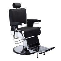 Scaun profesional pentru salon David 3308A, reglabil, rotativ, negru