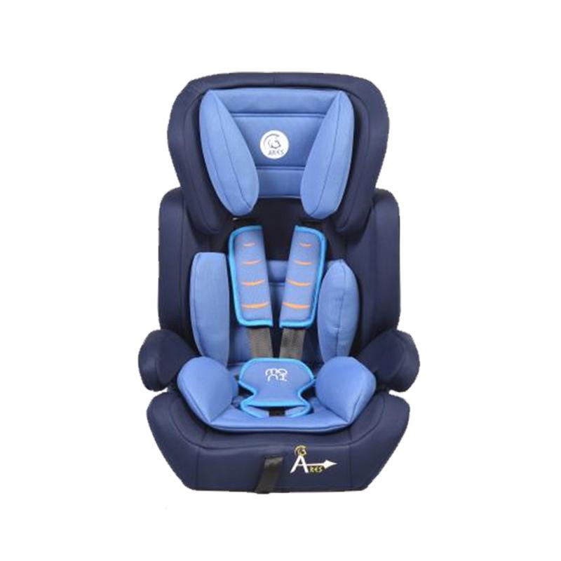 Scaun auto Ares Moni, 47.5 x 65 x 43 cm, tetiera detasabila, maxim 36 kg, 9 luni+, Albastru/Negru 2021 shopu.ro