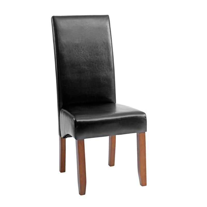 Scaun pentru bucatarie, 47 x 107 x 62 cm, piele ecologica/lemn masiv, maxim 110 kg, Maro shopu.ro