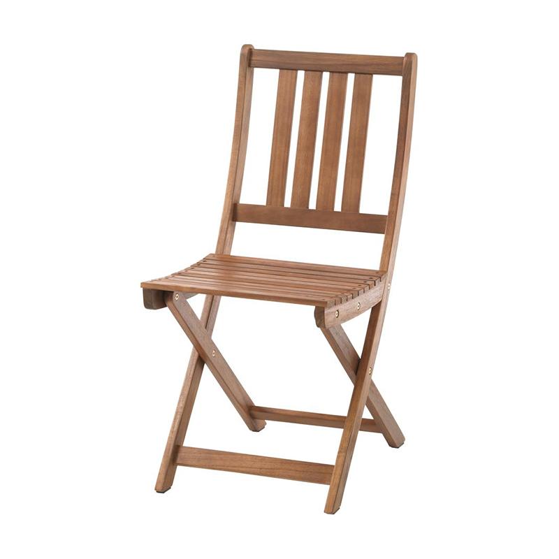 Scaun pliabil, 40 x 84 x 53 cm, lemn de salcam, Maro shopu.ro