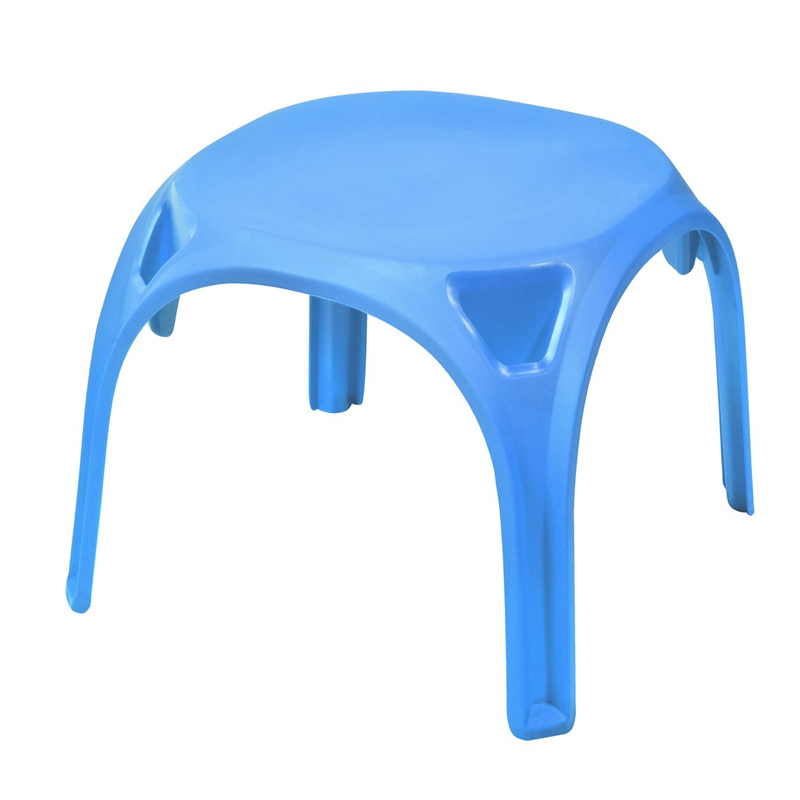 Scaunel din plastic pentru copii, 55 x 55 x 48, Albastru 2021 shopu.ro