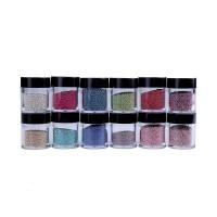 Decoratiune tip caviar pentru unghii, 12 bucati, Multicolor