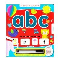 Scrii si stergi ABC, editura Girasol