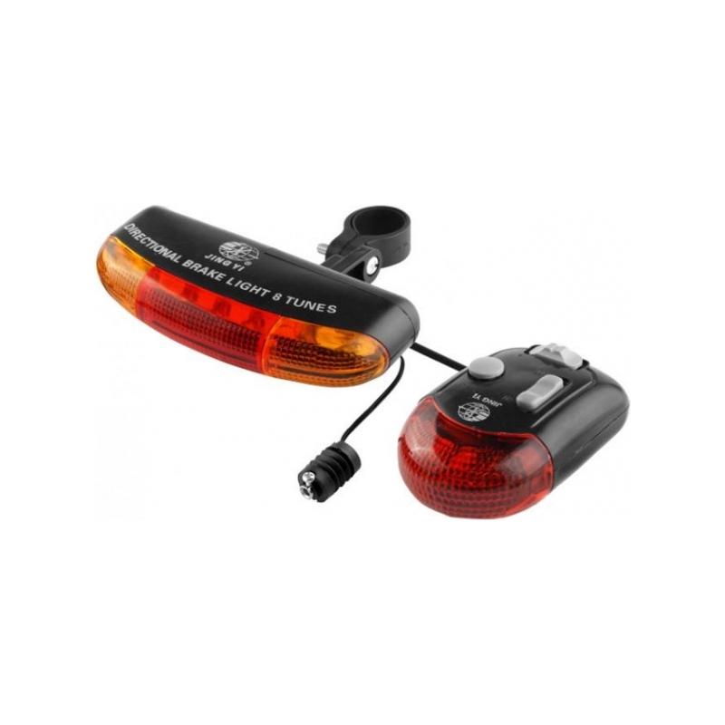 Semnalizare tip alarma, LED, 8 melodii, plastic 2021 shopu.ro
