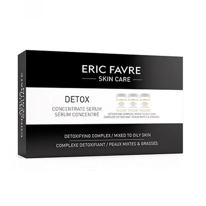 Ser detoxifiant fiole Eric Favre Skin Care, 10 x 5 ml 2021 shopu.ro