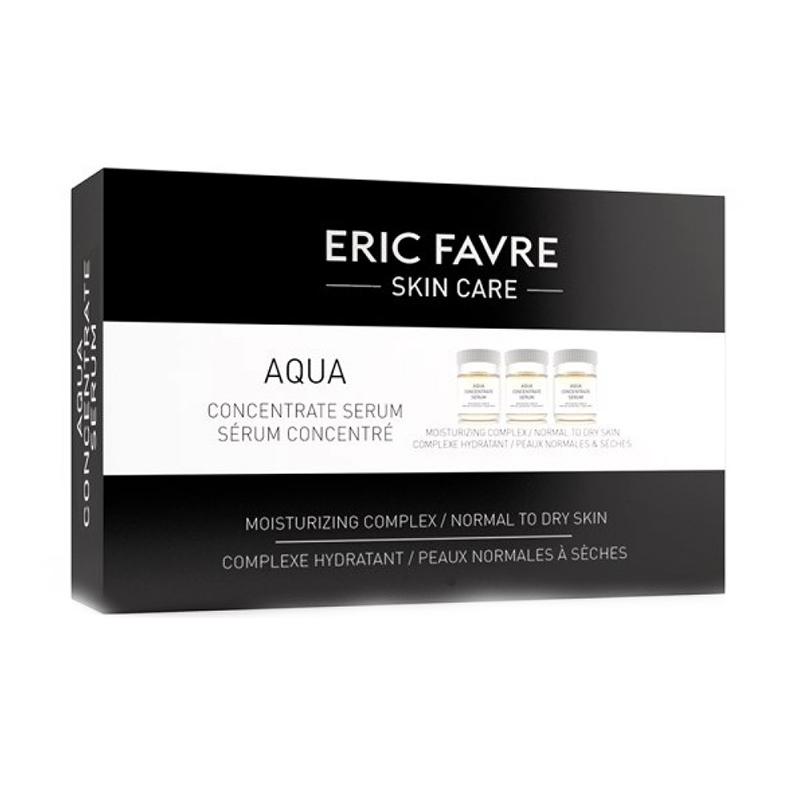 Ser hidratant concentrat fiole Aqua Eric Favre Skin Care, 10 x 5 ml 2021 shopu.ro