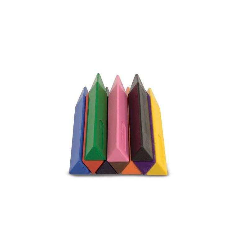 Set 10 creioane triunghiulare 2021 shopu.ro