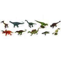 Set 10 mini dinozauri Collecta 2, plastic dur cauciucat