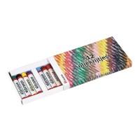 Set 12 creioane colorate pe baza de ulei Heutink