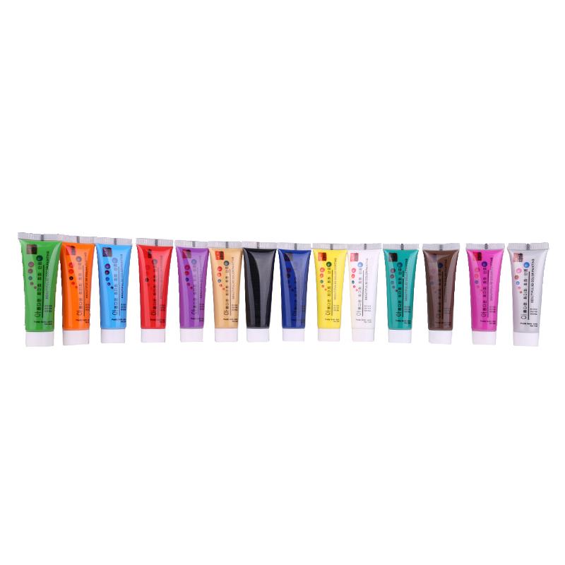 Set 14 vopsele acrilice colorate, 22 ml 2021 shopu.ro