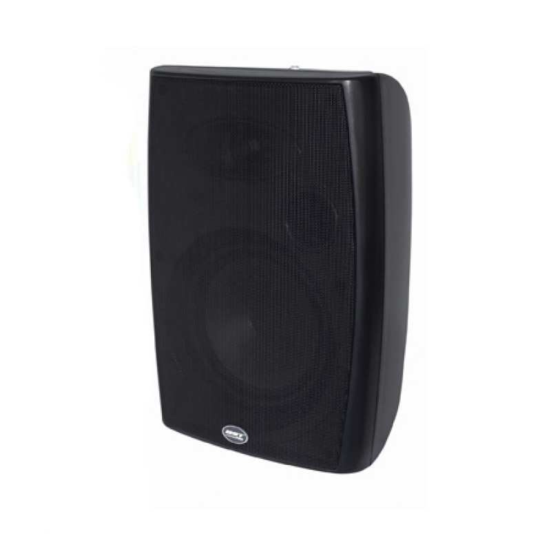 Set 2 Boxe pentru sonorizare, 4 inch, 20 W, montare pe perete, negru 2021 shopu.ro