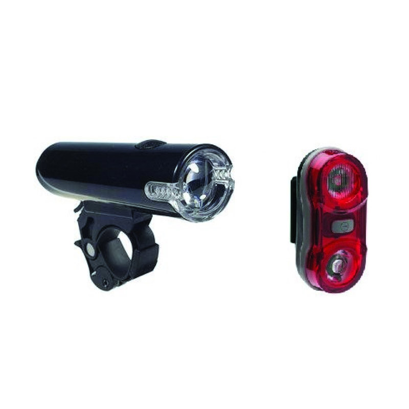 Set 2 lumini pentru bicicleta Condor Tork, 17 lm, 3 functii 2021 shopu.ro