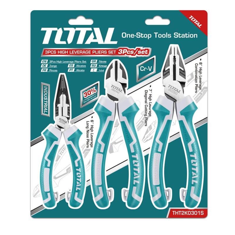 Set 3 clesti Total, finisaj TPR, material Cr-V shopu.ro