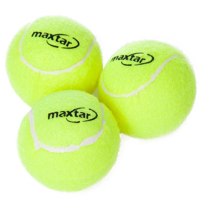 Set 3 mingi pentru tenis de camp Maxtar 2021 shopu.ro
