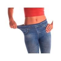 Set 3 pantaloni cu aspect de jeans