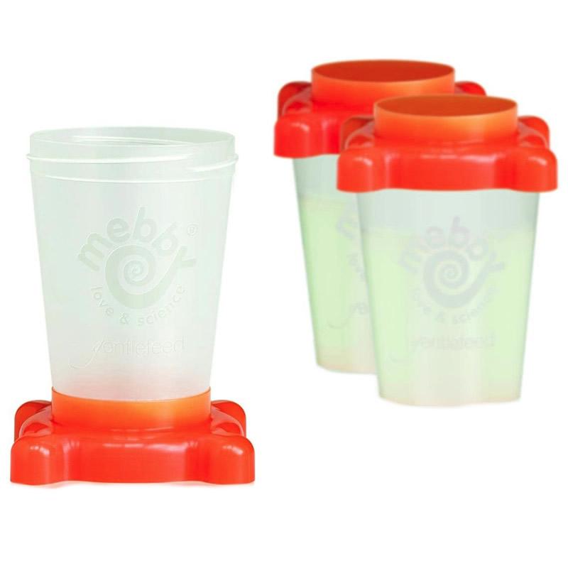 Set 3 recipiente lapte matern Gentlefeed Mebby, 250 ml