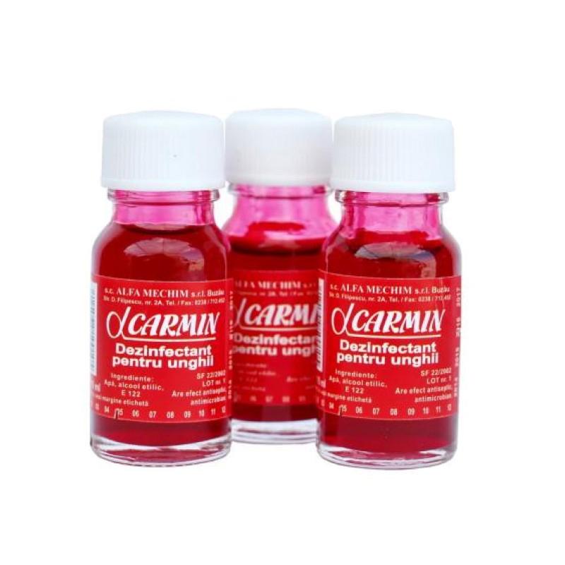 Set 3 sticlute carmin, 10 ml 2021 shopu.ro
