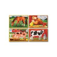 Set 4 puzzle Animale domestice