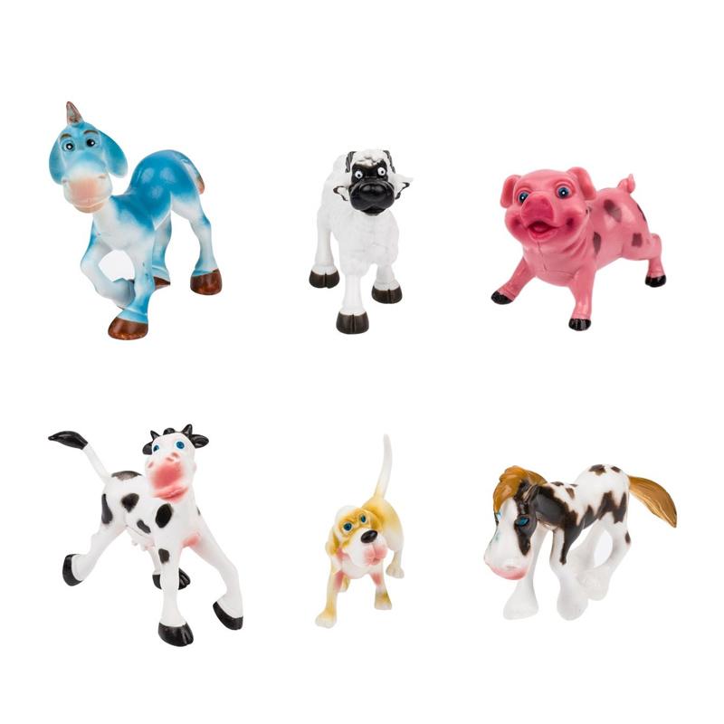 Set 6 figurine La Ferma, 9 x 7 cm, 3 ani+ 2021 shopu.ro
