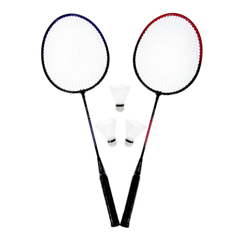 Set Badminton, 3 fluturasi, maner anti-aluncare 2021 shopu.ro