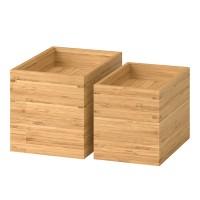 Set accesorii baie, 4 piese, bambus