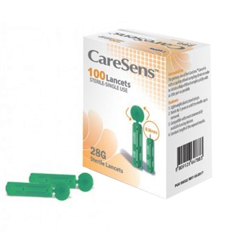 Set ace universale pentru glucometru CareSens, 100 bucati 2021 shopu.ro