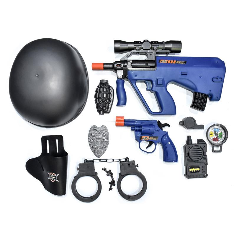 Set agent de politie Justice Mission Juda, 10 piese