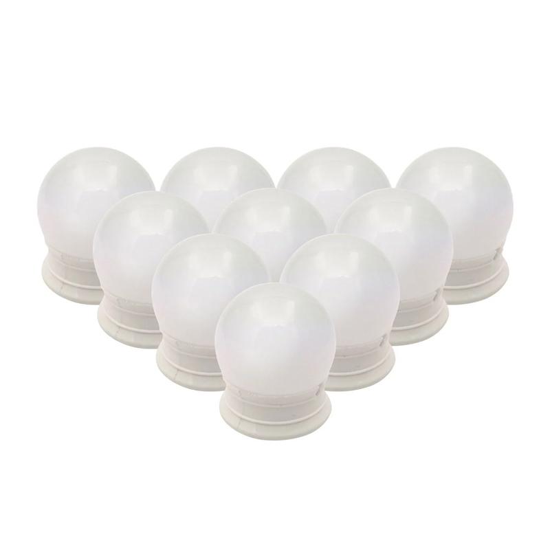Set becuri LED pentru oglinda Vanity, 45 x 50 mm, USB 2021 shopu.ro