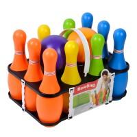 Set bowling pentru copii, 10 popice, 2 bile