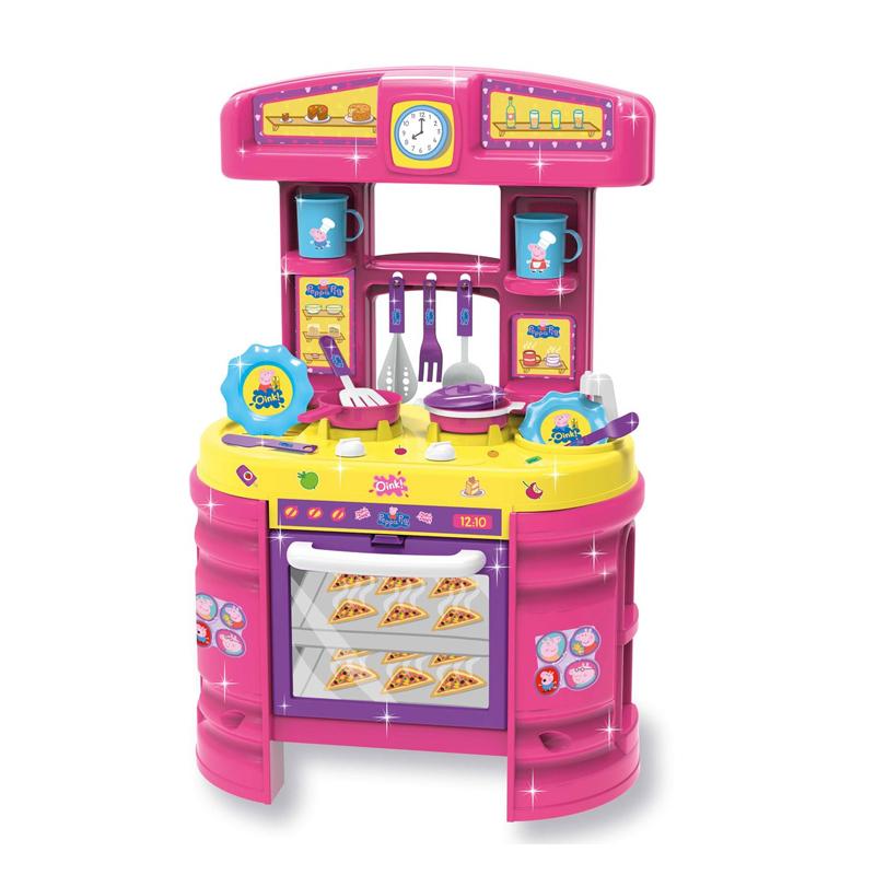 Set bucatarie pentru copii Peppa Pig, 15 accesorii, 3 ani+ 2021 shopu.ro