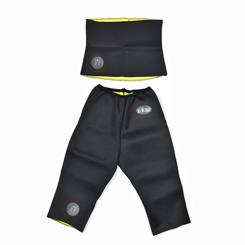 Set centura si pantaloni fitness Get In Shape, marime XXL 2021 shopu.ro