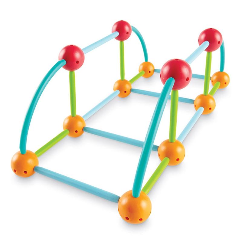 Set constructie Forme 3D Explorers, 58 piese, 5 - 9 ani