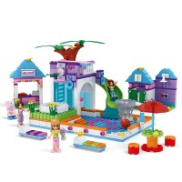 Set constructie Water Park Fashion Girls Ausini, 485 piese