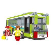 Set constructie autobuz City Ausini, 274 piese