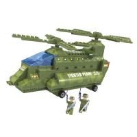Set constructie avion Army Ausin, 308 piese