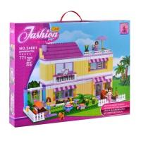 Set constructie casuta Fashion Girls Ausini, 771 piese