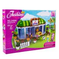 Set constructie cofetarie Fashion Girls Ausini, 298 piese
