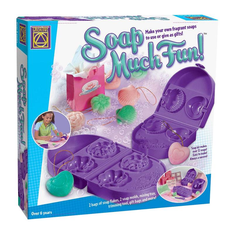 Set creativ forme de sapun Soap Much Fun Creative, 2 matrite, 4 forme 2021 shopu.ro