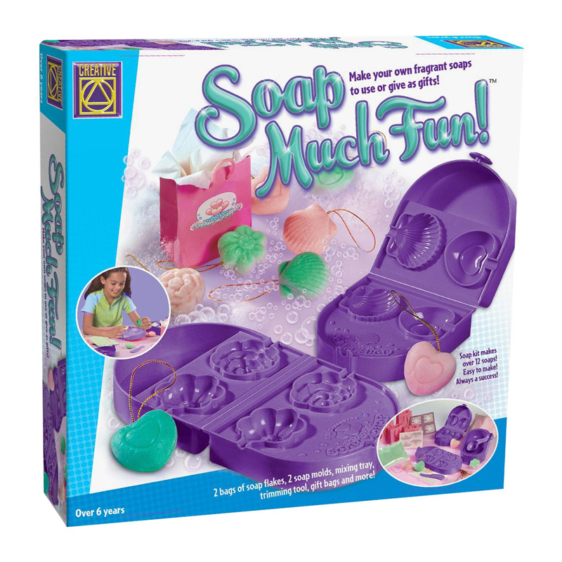 Set creativ forme de sapun Soap Much Fun Creative, 2 matrite, 4 forme