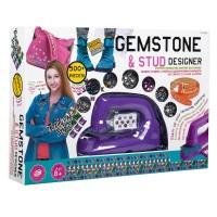 Set creativ pentru decorarea hainelor Gemstone, 500 piese, 3 ani+