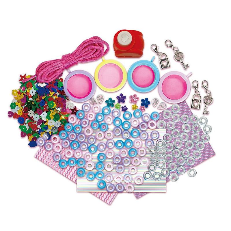 Set creativ pentru fetite Treasure Lockets, 5 ani+ 2021 shopu.ro